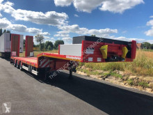 Kässbohrer heavy equipment transport semi-trailer SLS3
