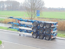 Krone 3x In Stock: 3-Axle Multi Chassis / BPW / NL Trailer semi-trailer used container