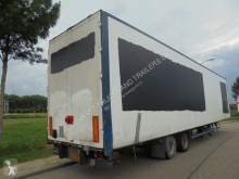 Semi remorque Van Eck 2-Axle Box / Airfreight / Rollenbahn / BPW / NL Trailer fourgon occasion