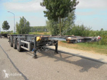 Trailer Schmitz Cargobull 3-Axle 20/30 FT Tank Chassis / SAF / Disc / Liftaxle tweedehands containersysteem