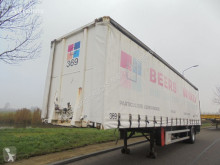 Semi remorque rideaux coulissants (plsc) Fruehauf 1-Axle City / Loading Lift / NL Trailer / 2x In Stock