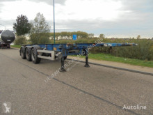 Van Hool 3-Axle Tankcontainerchassis / 20-30 ft / NL / ROR semi-trailer used container