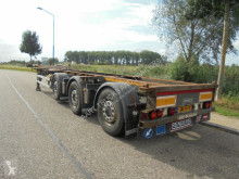 Trailer Renders 3-Axle Chassis / 2x Steering Axle / SAF / Discbrakes / Liftaxle tweedehands containersysteem