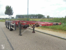 Trailer Burg 3-Axle Chassis / 30FT / ADR / BPW / Drumbrakes / APK tweedehands containersysteem