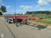 Trailer Burg 3-Axle Chassis / 20-30FT / ADR / BPW / Drumbrakes / APK tweedehands containersysteem