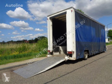 Heavy equipment transport semi-trailer S/R 1-Axle Lowbed / Curtainside / Loading Ramp