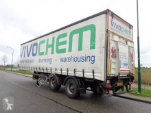 Trailer Fruehauf 2-axle Steering-Lift axle / Loading lift / NL Trailer / BPW Axle tweedehands Schuifzeilen