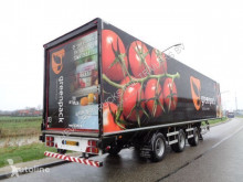 Semi reboque Draco 3-axle closed box / BPW /2x Steering axle / NL Trailer furgão usado