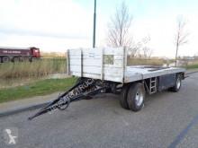 Römork BPW KMA 2-As Aanhanger / Bladvering / Assen taban ikinci el araç
