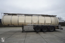 Feldbinder FOOD / CHEMIE TANK TRANSPORT TRAILER semi-trailer used food tanker