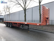 Semitrailer Castera open laadbak Steel suspension platta begagnad