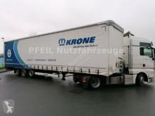نصف مقطورة Krone SD Tautliner- BPW- MEGA- Hubdach- LIFT مغطاة مستعمل