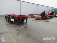 Semi Krone Containerfahrgestell Slider