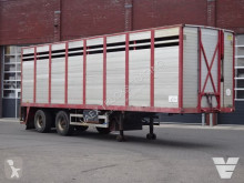 Semiremorca Pacton 1 deck livestock trailer - - Steering axle - transport bovine second-hand