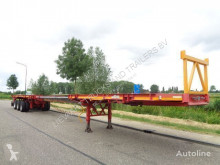 Capperi 3-Axle Platform / 6M Extendable / 3x Steering Axle semi-trailer used flatbed