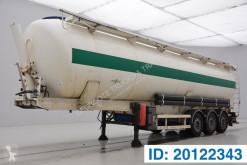 Semitrailer Spitzer Bulk silo 60 cub tank begagnad
