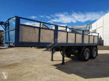 Trailer containersysteem Lecitrailer Portacontenedores Laterales
