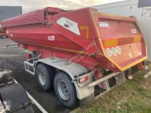 Marrel 2 essieux porte hydraulique double effet semi-trailer used construction dump