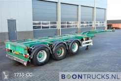 Semi reboque Pacton T3-010 | 2x20-30-40-45ft HC * STEERING AXLE * MULTI CHASSIS usado