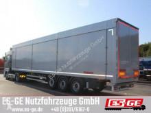 Semirimorchio Reisch 3-Achs-Schubbopdenauflieger 91,6 m³ furgone usato