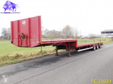 Kaiser Low-bed semi-trailer used heavy equipment transport