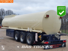 Lindner & Fischer TSA 36 34.350 Ltr. Fuel Benzin Pump Counter ADR 2x Liftachse semi-trailer used chemical tanker