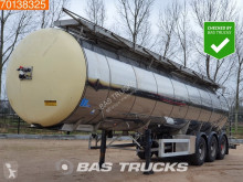 Trailer Feldbinder TSA 35.3-1 35.000 Ltr Chemie Tank Liftachse tweedehands tank chemicaliën