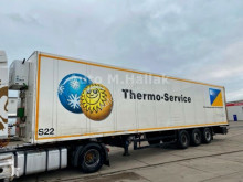 Semi remorque fourgon Schmitz Cargobull Koffer Isoliert Thermo King Heizung Doppelstock