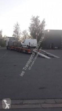 Faymonville flatbed semi-trailer Surbaissé
