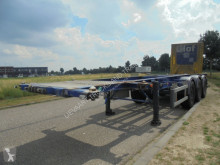 Trailer Burg 3-Axle Tank / 20-30 FT / Chassis / SAF / Discbrakes tweedehands containersysteem