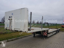 Fliegl SDS 390 Semi Tieflader, SAF, Lenkachse semi-trailer used heavy equipment transport