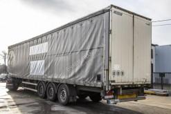 Sættevogn kassevogn Lecitrailer OPEN BOX (BACHE + PLATEAU)