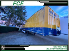 Semi remorque Krone Fourgon/Polyfond *ACCIDENTE*DAMAGED*UNFALL* fourgon polyfond accidentée