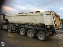 Schmitz Gotha 3 Essieux semi-trailer used construction dump