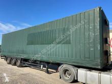 Semi remorque fourgon porte vêtements Lecitrailer furgon paquetero