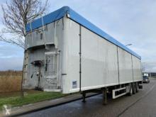 Félpótkocsi Knapen K100 Walking Floor / 92m3 / SAF / Disc / NL Trailer használt mozgópadló