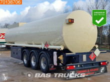 Lindner & Fischer TSA 36 LTD 34.350 Ltr. Fuel Benzin Pump ADR 2x Liftachse semi-trailer used chemical tanker