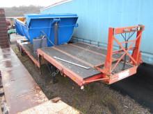 Demico flatbed semi-trailer col de cygne suspensions meca