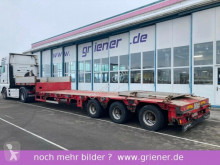 Semi remorque Goldhofer STZ L 3/39/80 A / 38to NL / ZWANGSGELENKT AZB !! porte engins occasion