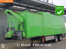 Burg BPO 12-20 GRNXX Ladebordwand Lenkachse Dunschede SL 1001 semi-trailer used box