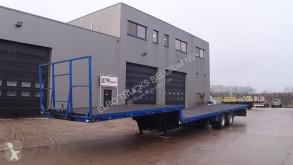 Náves náves na prepravu strojov Fruehauf ET32S122S (STEEL SUSPENSION / 8 TIRES / DOUBLE TIRES / AXLES / DRUM BRAKES)