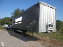 Krone 3 Essieux semi-trailer used tautliner