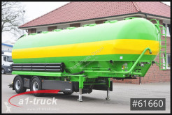 Heitling SDBH 51, Silo 51m³, Futter, Food, Lenkachse semi-trailer used food tanker