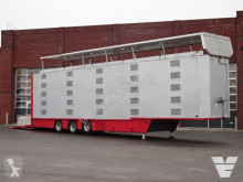 Cuppers 5 Stock Livestock trailer semi-trailer used cattle
