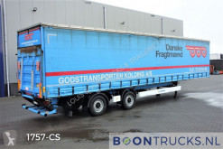 Krone tautliner semi-trailer SZ | STEERING AXLE * 2.5T TAILLIFT