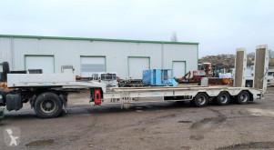 Verem PTE ENGINS PLATEAU TELESCOPIQUE 3 EME ESSIEU SUIVEUR semi-trailer used heavy equipment transport