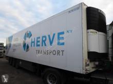 Félpótkocsi Schmitz Cargobull Carrier Vector Multitemp, dual temp, LBW, Taillift Alu bodem, 270 cm Hoch, Trennwand, használt egyhőmérsékletes hűtőkocsi