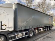 Groenewegen DRO-15-27 B 3 asser 1 x gestuurd laadklep 2000 kg semi-trailer used tautliner