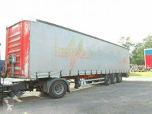 Fruehauf Pritsche/Plane semi-trailer used tarp