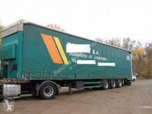 Semi reboque Schmitz Cargobull Pritsche/Plane*Hubdach*Mega caixa aberta com lona usado